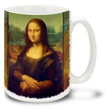 Mona Lisa - Leonardo da Vinci - 15 oz Coffee Mug