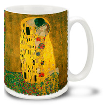 The Kiss (Lovers) - Gustav Klimt - 15 oz Coffee Mug