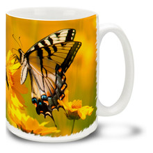 Eastern Tiger Swallowtail Butterfly - 15 oz Mug
