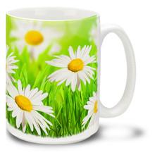 Spring Daisies - 15 oz Mug