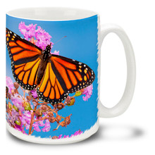 Monarch Butterfly - 15 oz Mug