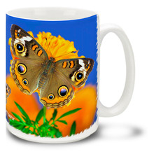Common Buckeye Butterfly - 15 oz Mug