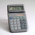 XE6 8-Digit Tiltable Display, Dual Powered Handheld Calculator