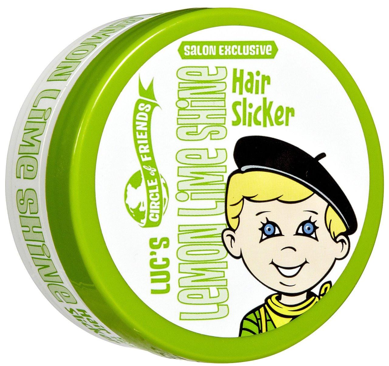 Luc's Lemon Lime Hair Slicker
