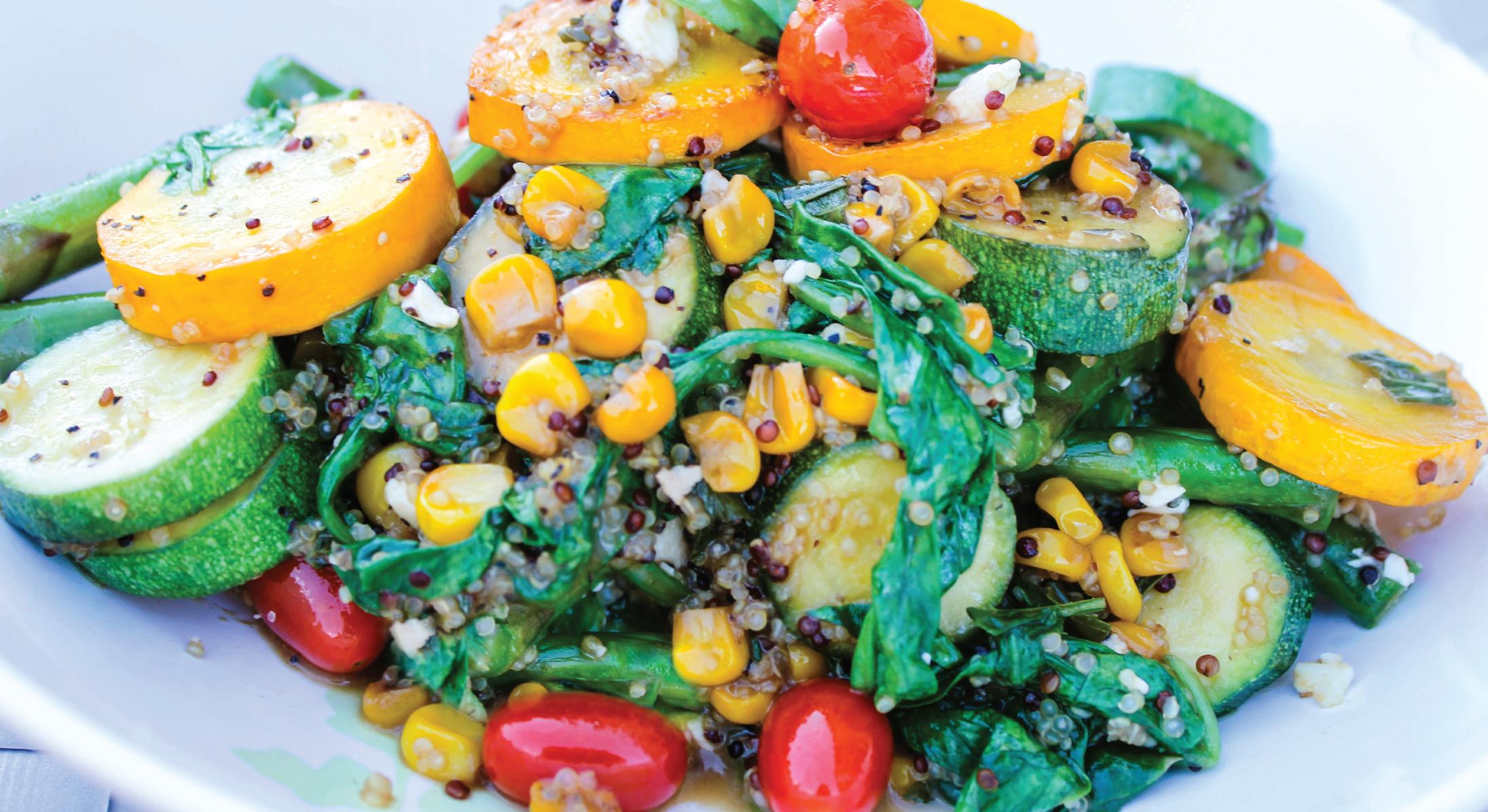 Shiloh Farms Summer Quinoa Salad with Squash & Corn