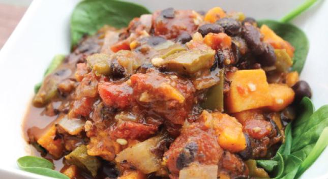 Shiloh Farms Vegetarian Slow Cooker Sweet Potato Chili