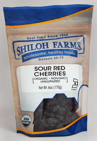 Shiloh Farms Organic Sour Red Cherries