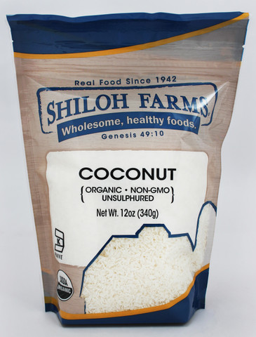 Shiloh Farms Organic Shredded Coconut