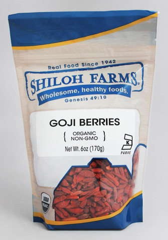 Shiloh Farms Organic Goji Berries