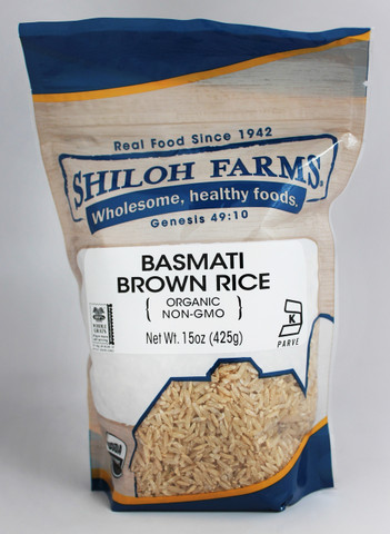 Shiloh Farms Organic Brown Basmati Rice