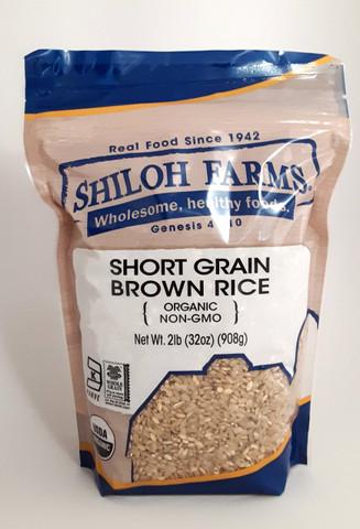 Shiloh Farms Organic Short Grain Brown Rice
