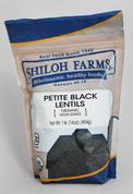 Shiloh Farms Organic Petite Black Lentils
