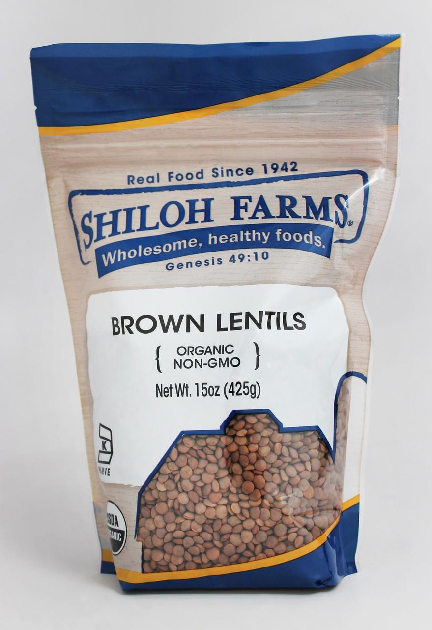 Brown Lentils, Organic