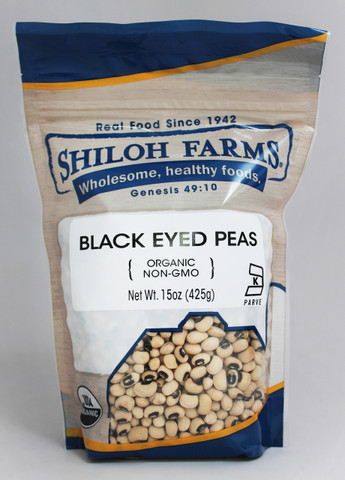 Shiloh Farms Organic Black Eyed Peas