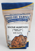 Shiloh Farms Organic Whole Raw Almonds