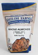 Shiloh Farms Organic Whole Raw Almonds