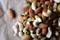 Shiloh Farms Organic Whole Raw Cashews, Organic Whole Raw Almonds, and Organic Raw Shelled Pistachios