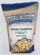Shiloh Farms Organic Whole Raw Cashews