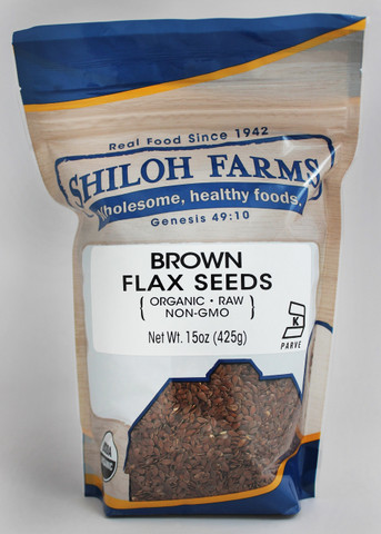 Shiloh Farms Organic Brown Flax Seeds