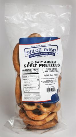 Shiloh Farms No Salt Added Spelt Pretzels