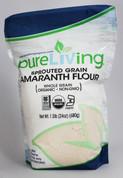 PureLiving Sprouted Amaranth Flour / Organic, Kosher, Non-GMO, Whole Grain, Raw