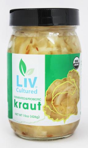PureLiving Fermented Sauerkraut/ Organic, Non-GMO, Probiotic, Raw
