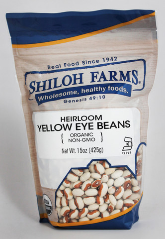 Shiloh Farms Organic Heirloom Yellow Eye Beans