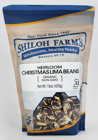 Shiloh Farms Organic Heirloom Christmas Lima Beans