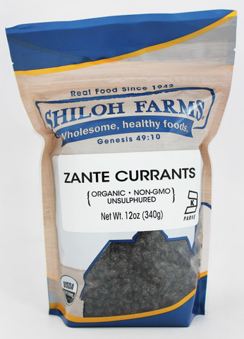 Shiloh Farms Organic Zante Currants