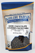 Shiloh Farms Organic Dark Chocolate Covered Cacao Nibs
