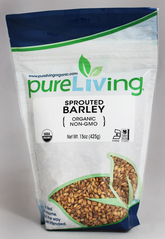 PureLiving Sprouted Barley / Organic, Kosher, Non-GMO, Whole Grain, Raw