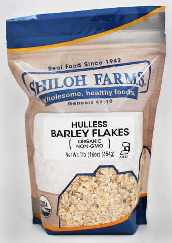 Shiloh Farms Organic Hulless Barley Flakes