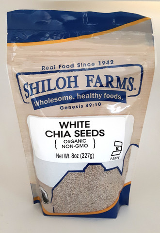 Shiloh Farms Organic White Chia Seeds