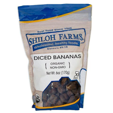 Shiloh Farms Organic Diced Bananas