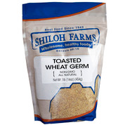 Flake Wheat Germ, Toasted
