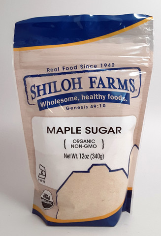 Maple Sugar, Organic 12 oz