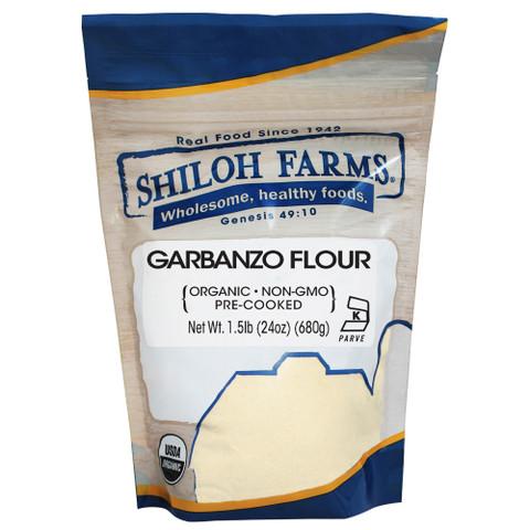 Shiloh Farms Organic Pre-Cooked Garbanzo Bean Flour