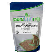 PureLiving® Sprouted Brown Flax Powder Organic