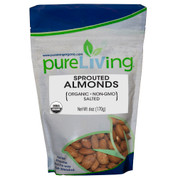 PureLiving® Sprouted Almonds w/Salt, Organic