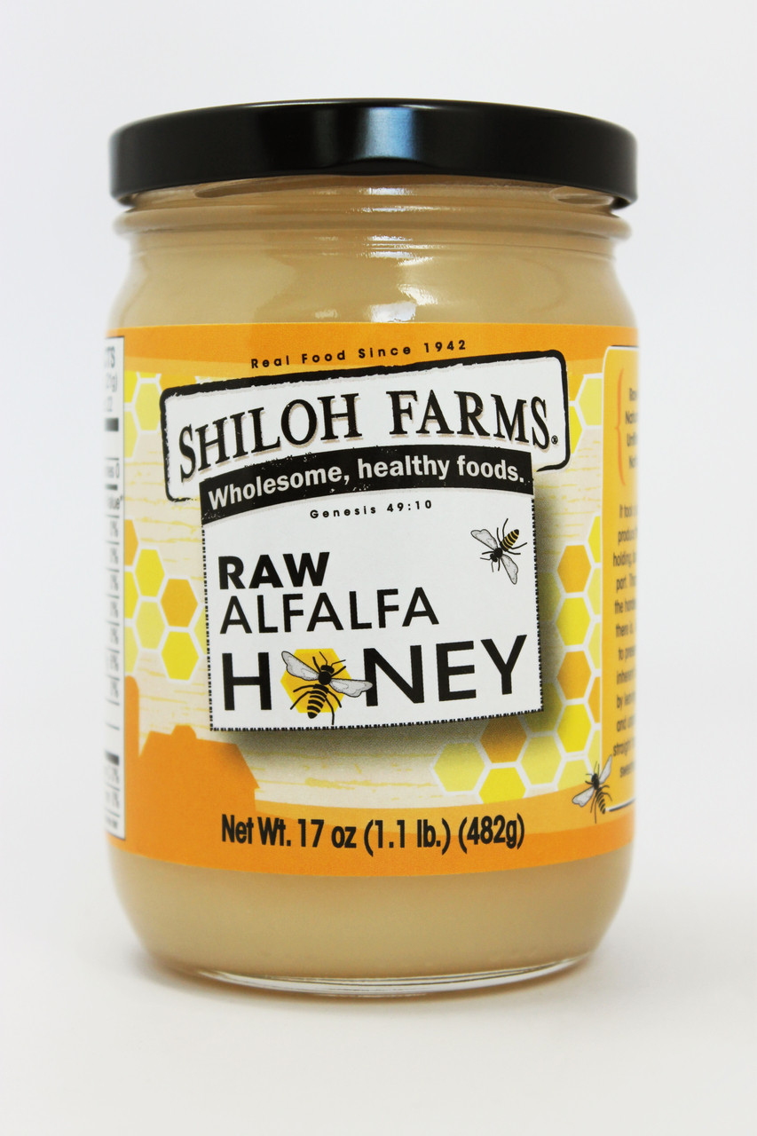 Raw Alfalfa Honey