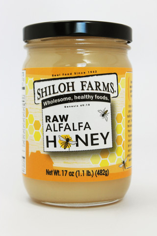 Raw Alfalfa Honey 17 oz