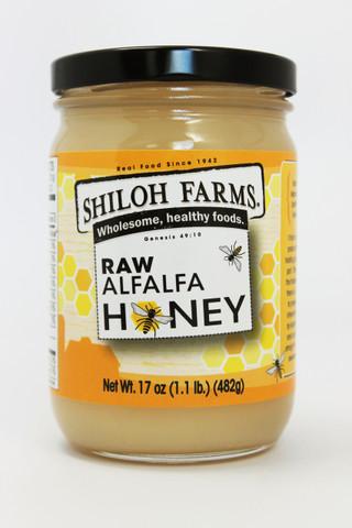 Raw Alfalfa Honey 17 oz