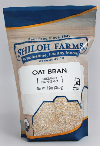 Shiloh Farms Organic Oat Bran (12oz)