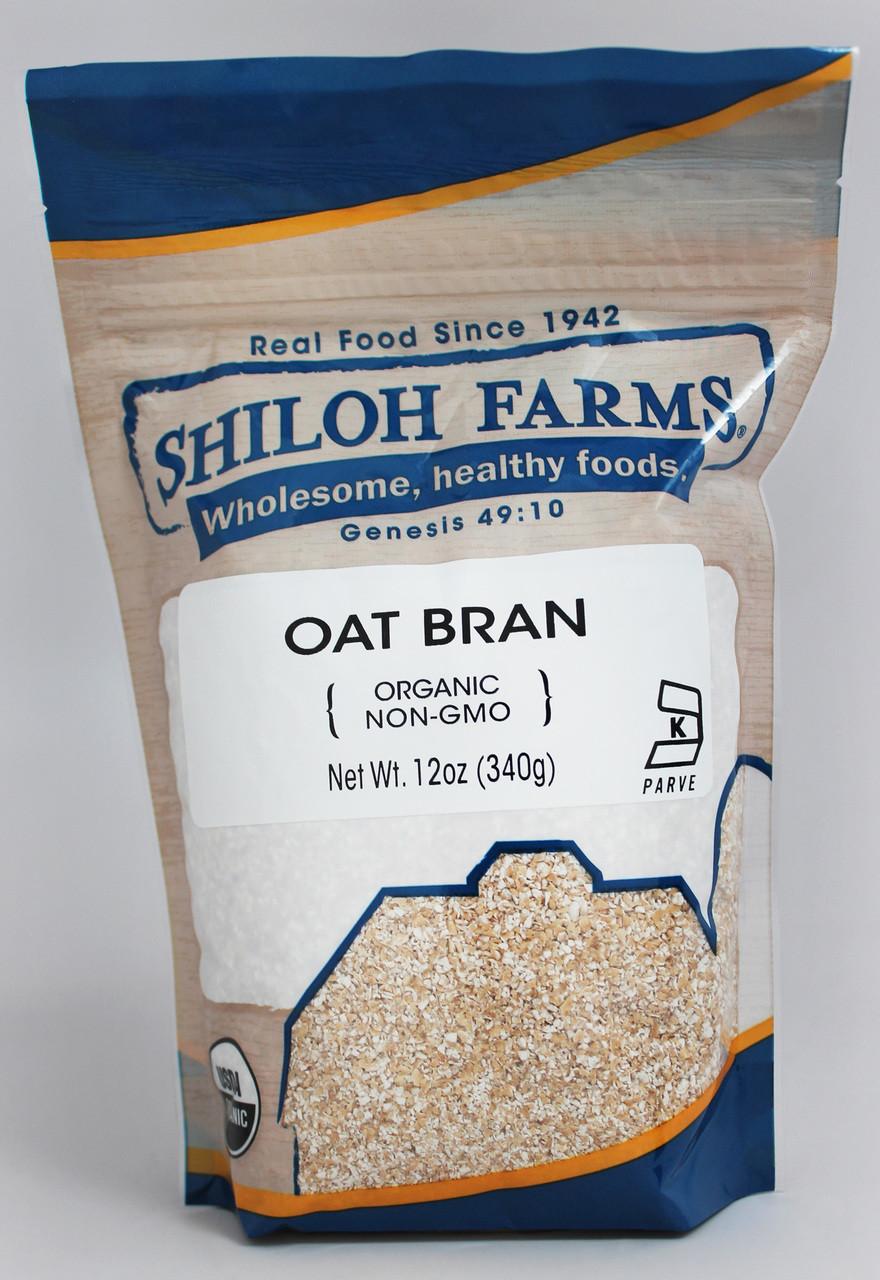 Oat Bran Organic Non Gmo Shiloh Farms