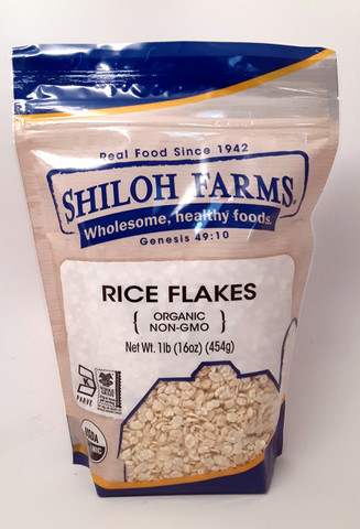 Rice Flakes, Organic 16 oz
