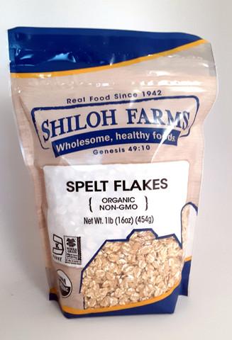 Spelt Flakes, Organic 16 oz