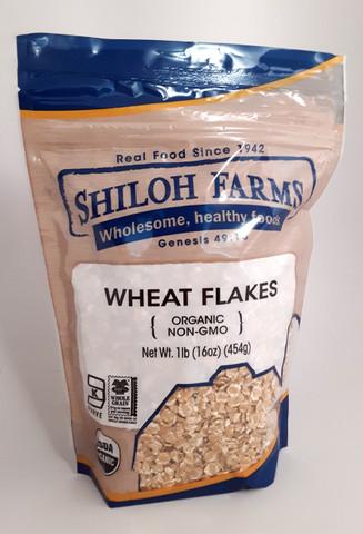 Wheat Flakes, Organic 16 oz