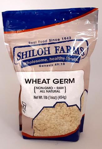 Flake Wheat Germ 16 oz