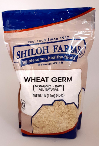 Flake Wheat Germ 16 oz