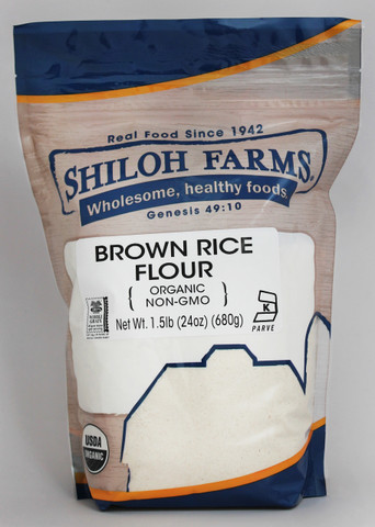 Shiloh Farms Organic Brown Rice Flour